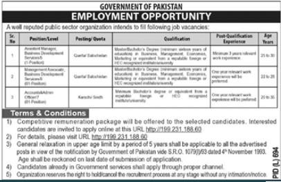 Govt Jobs Opportunities