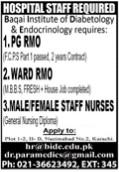 Medical Staff Required, Doctor and Nurses in Lahore